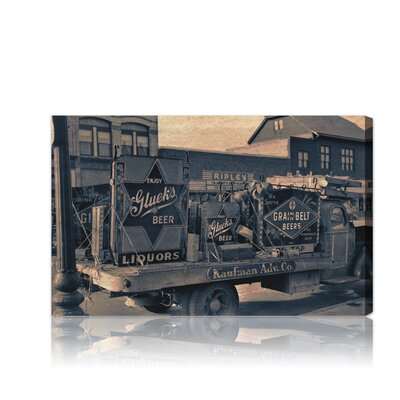 Oliver Gal ''Beer Truck'' Canvas Art Print
