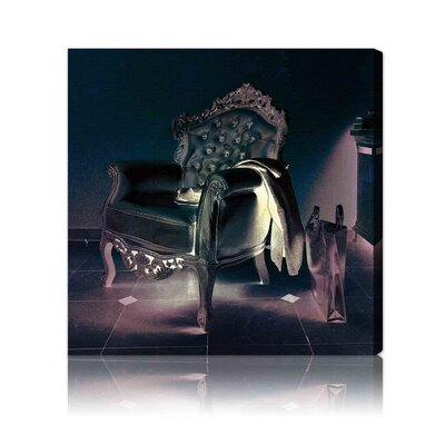 "Oliver Gal ""Champagne Leather"" Canvas Art Print"