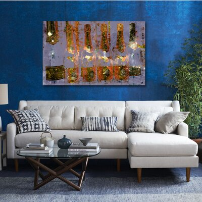 Oliver Gal ''Cristal on Crystal'' Painting Print on Canvas