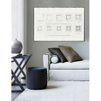 "Oliver Gal ""Dry Block"" Canvas Art Print"