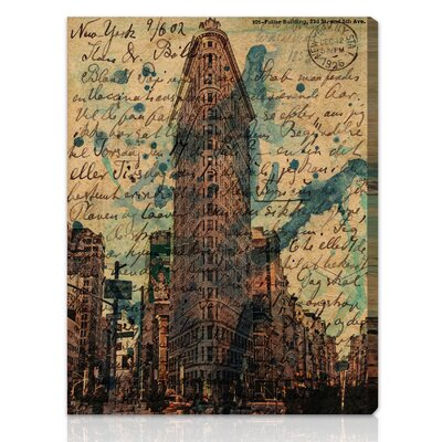 "Oliver Gal ""Flat Iron"" Canvas Art Print"
