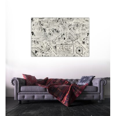 Oliver Gal ''Harlem'' Canvas Wall Art