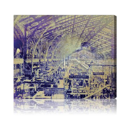 Oliver Gal ''Paris Universel Expo'' Canvas Art Print