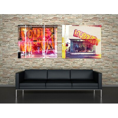 "Oliver Gal ""Street Fashion"" Canvas Art Print"