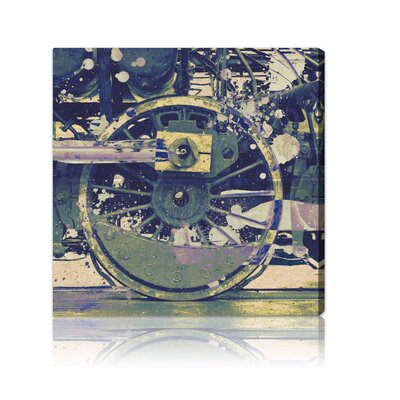 Oliver Gal ''Wheel'' Canvas Wall Art