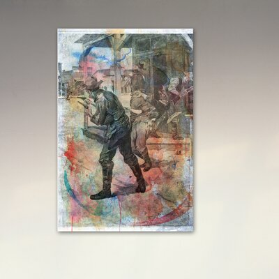 Oliver Gal ''Coffeyville Bank Robbery'' Canvas Art Print