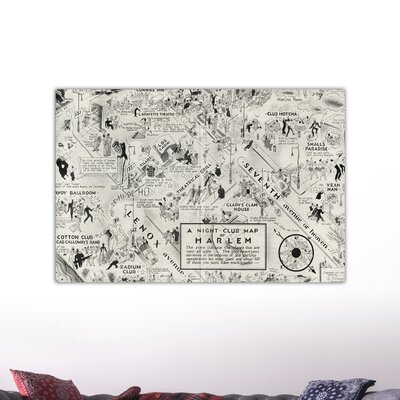 Oliver Gal ''Harlem'' Graphic Art on Canvas