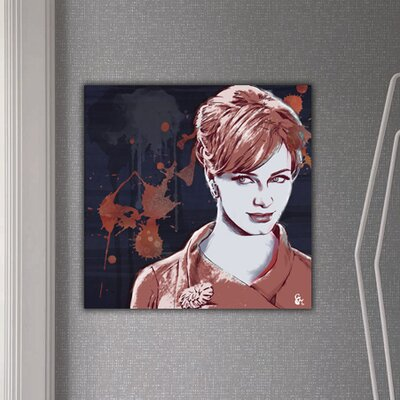 Oliver Gal ''Mysterious Glare'' Canvas Wall Art