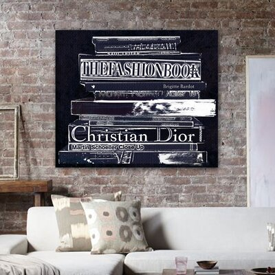 "Oliver Gal ""Philosophy"" Canvas Wall Art"
