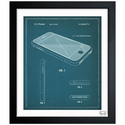 Apple iPhone 2010 Framed Graphic Art
