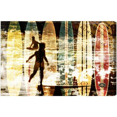 Oliver Gal Surfing Australia Canvas Art