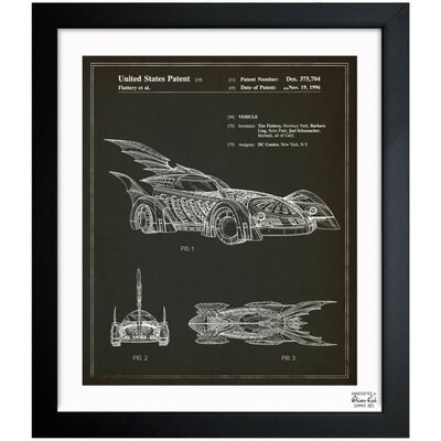 Batmobile 1996 Framed Graphic Art