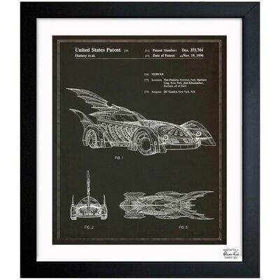 Batmobile 1996 Framed Graphic Art