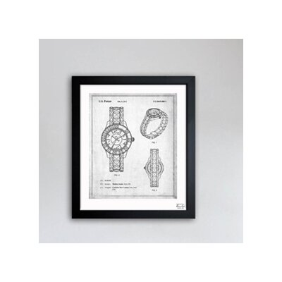 Oliver Gal Dior Watch 2011 Framed Graphic Art