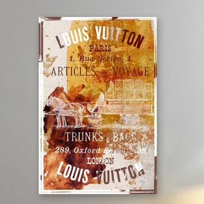 Oliver Gal Articles De Voyage Canvas Art