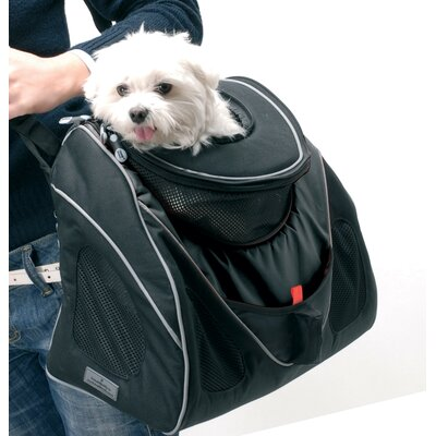 PetEgo Contour Messenger Black Label Pet Carrier