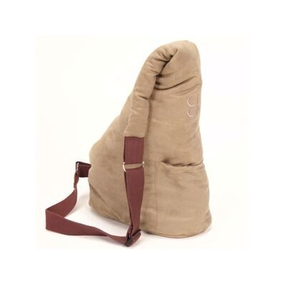 PetEgo Velvet Messenger Soft Pouch Pet Carrier