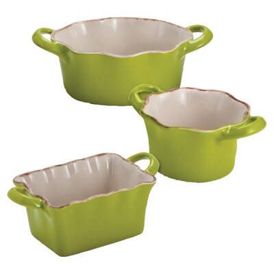 Cypress Home Ceramic Ramekin (Set of 3)