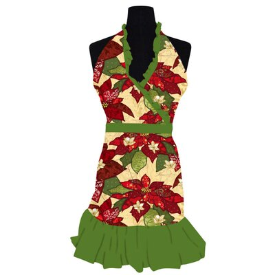 Cypress Home Boughs of Holly Apron