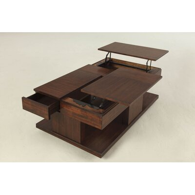 Progressive Furniture Le Mans Coffee Table With Double Lift Top Reviews Wayfair