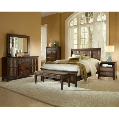 Progressive Furniture Inc. Kingston Isle Sleigh Bedroom Collection