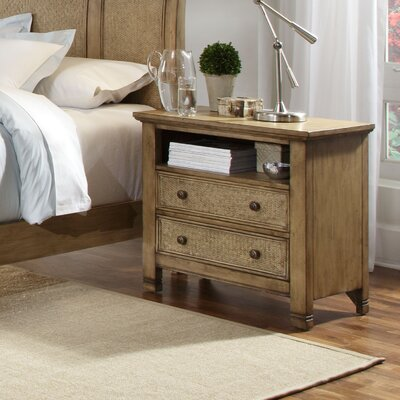 Kingston Isle 2 Drawer Nightstand