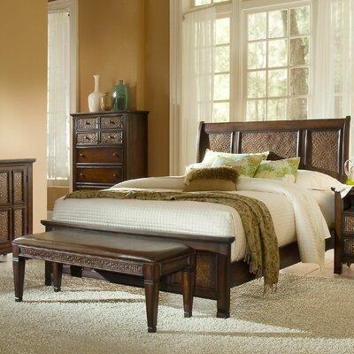 Kingston Isle Sleigh Bed
