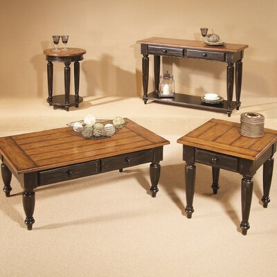 Progressive Furniture Country Vista Lift Top Coffee Table Set