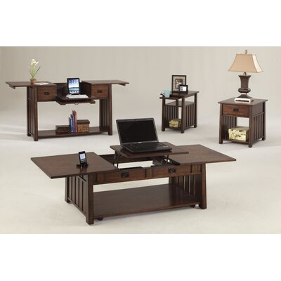 Progressive Furniture Inc. Mountain Mission Lift-Top Coffee Table Set