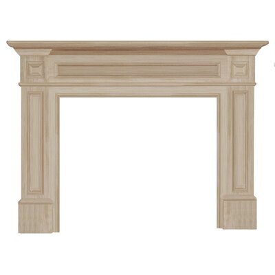 pearl mantels the classique fireplace mantel surround reviews