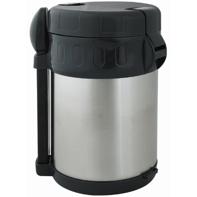 2.11-qt. Vacuum Flask with Food Compartment