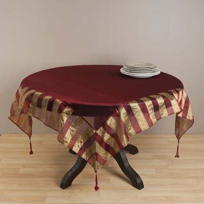 Striped Classique Table Topper