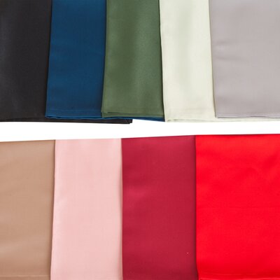 Saro Satin Scalloped Edge Table Cloth Liner