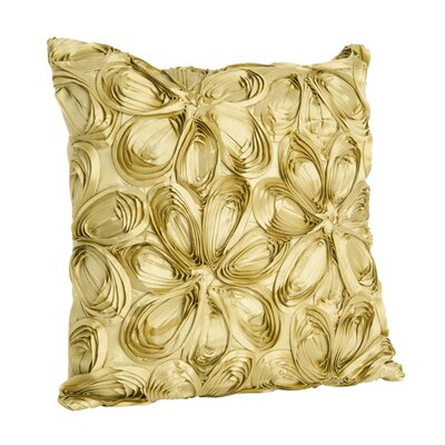 Saro Ribbon Polyester Pillow