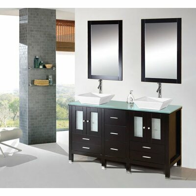 Kokols Caius Double Sink Bathroom Vanity Set