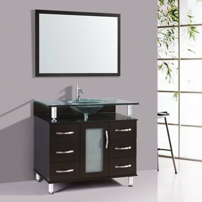 Kokols 32quot; Single Bathroom Vanity Set with Mirror amp; Reviews  Wayfair