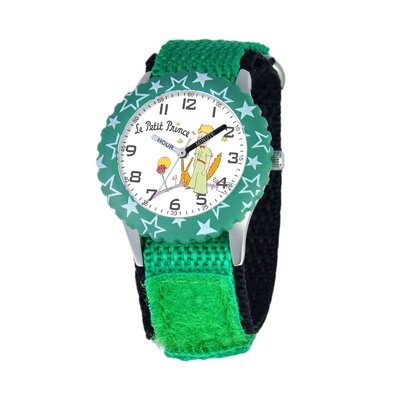 Kid's Time Teacher Stars Velcro Strap Watch