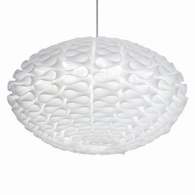 Nuevo Cerebro Pendant Lamp in White