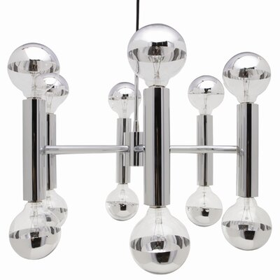 Nuevo Darwin Pendant Lamp in Chrome