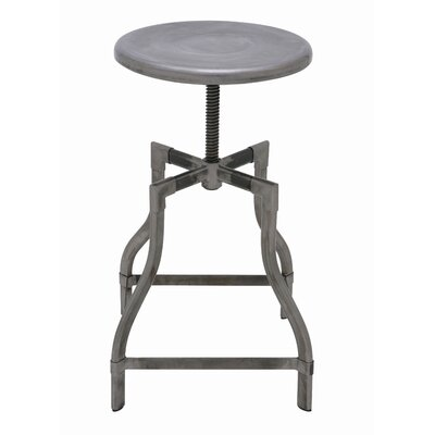 Nuevo Torsion Stool in Silver