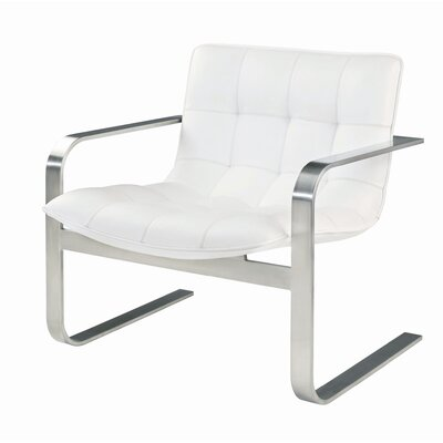 Nuevo Cordoba Lounge Chair in White