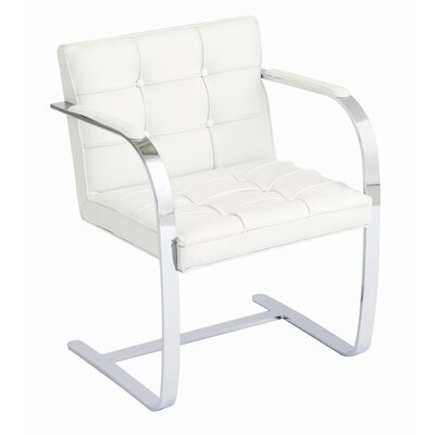 Nuevo Julius Lounge Chair in White
