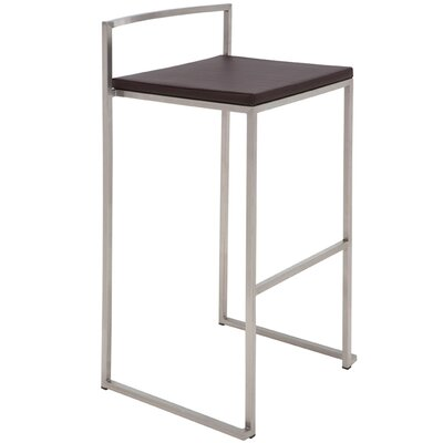 Nuevo Genoa Counter Stool in Brown