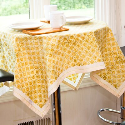 Sustainable Threads Citrus Table Cloth
