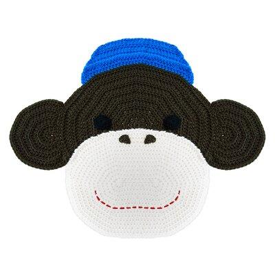 Peanut Butter Dynamite Crochet Monkey Kids Rug