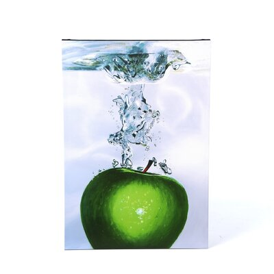 "Trademark Fine Art Apple Splash II by Roderick Stevens, Canvas Art - 32"" x 22"""