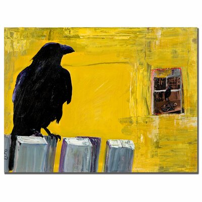 "Trademark Fine Art ""Watching"" by Pat Saunders-White Painting Print on Canvas"