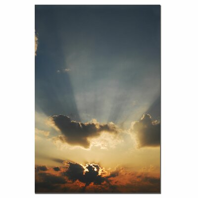 "Trademark Fine Art Beautiful Sky by Kurt Shaffer, Canvas Art - 24"" x 16"""