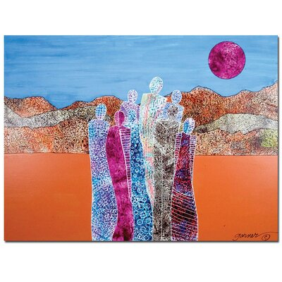 "Trademark Fine Art The Valley of Unity by Garner Lewis, Canvas Art - 24"" x 32"""