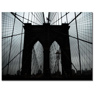 "Trademark Fine Art Brooklyn Bridge by Tammy Davison, Canvas Art - 24"" x 32"""